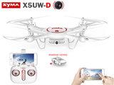 Syma Syma X5UW-D - Optical Flow Positioning - FPV Draaibaar camera -App control functie drone_