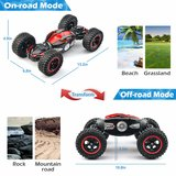 RC Car Off-Road Monster Truck 4WD 1:14 Stunt Transform Auto - 32CM_