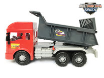 Speelgoed Vrachtwagen met laadbak/kiepbak - 4 soorten geluiden en lichtjes - 33CMS