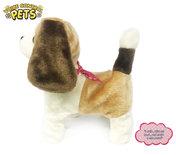 Schattig blaffende speelgoed hondje - blaffen en bewegen op geluid - Voice Control Pets - 23CM