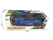Rc drift auto - 3D light - oplaadbaar - 43CM - 1:10 blauw