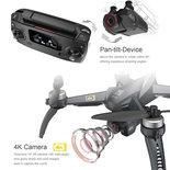 MJX Bugs 5W 4K draaibaar 5G camera drone quadcopter 2.4GHZ - Brushless motoren + GPS 1000m en volg systeem + opbergtas
