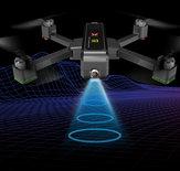 MJX Bugs B4W Drone - 4K Ultra HD camera FPV -Brushless motoren -GPS 1.6KM - opvouwbaar - bugs 4 -Upgrade versie!(inclusief koffer)
