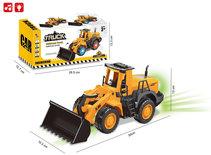 Graafmachine Bulldozer speelgoed met licht en geluid - Truck Engineering 30CM