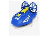 Rc Hovercraft A1 - 2.4G 4CH RC Twin-propeller boot - 50 meter - 21CM