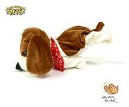 Schattig blaffende speelgoed hondje - Met 7 verschillende kunstjes op geluid/aanraken - Voice Control clap dog- 29CM