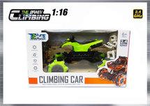RC Climbing Car QUAD 1:16 2.4ghz - BRAVE speelgoed auto (oplaadbaar) 25CM