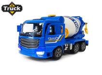 Betonmixer vrachtwagen speelgoed truck- met licht en geluid - deuren op en dicht functie - 29.5CM