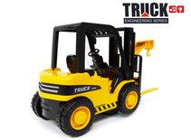 Heftruck speelgoed werkvoertuigen - met geluid en bewegende hefvork - 26.5 CM