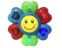 Sunflower Educatieve Speelgoed Drum voor peuters / Baby's + Tape Mic Speelgoed microfoon met diverse instrumenten   Incl. Batterij