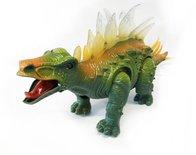 Speelgoed Schoolbus + Dinosaurus STEGOSAURUS met licht en geluid Voordeel pak 2 Stuks   Incl. Batterij