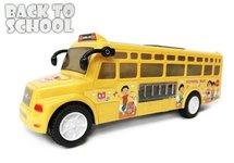 Speelgoed bouwblokjes 170 stuks + Speelgoed Schoolbus | Incl. Batterij