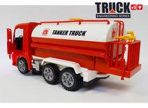 Tankwagen speelgoed met licht en geluiden - Truck Engineering series werkvoertuigen 30CM