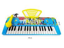 Speelgoed Keyboard met 37 tonen - muziek piano - met microfoon - 45 CM