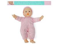 Baby Eva pop speelgoed - interactief baby pop met lunchtafel - incl. 8 accessoires (30CM)