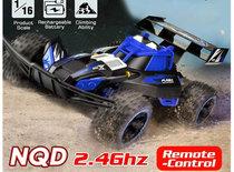 RC Race Buggy NQD - 2.4GHZ radio grafisch bestuurbare auto 12km/u - 1:16 - oplaadbaar + extra accu