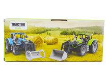 Landbouw Tractor met voorlader - farmer 1:32 - werkvoertuig boerderij landbouw speelgoed- 26CM