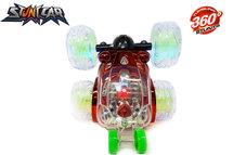 Rc stunt car - Acrobatische afstand bestuurbaar auto met 360º draaiende wielen - Oplaadbaar 17.5CM