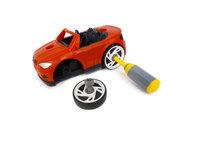 DIY Car puzzel auto die je uit elkaar haalt en weer opbouwt- 21 in 1 - Speelset bouwen educatief