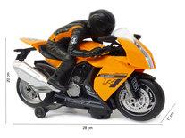 AutoBike motor speelgoed - MotorCycle - met licht en motor geluiden - 28CM
