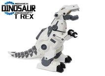 BS Robot Tyrannosaurus Rex - kan bewegen en lopen - met led lichtjes en dino geluiden - Dinosaurus T-REX 37.5CM