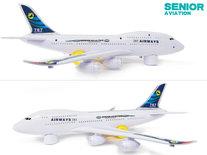 BS Airbus speelgoed vliegtuig -Senior Aviation Airways 787 46CM