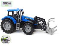 Landbouw tractor met voorlader - farmer 1:32 - werkvoertuig boerderij speelgoed- 1:32 26CM