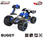 RC Race Buggy NQD - 2.4GHZ radio grafisch bestuurbare auto 18km/u - 1:10 43CM - oplaadbaar (incl. extra accu)