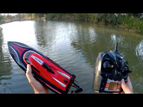 BS RC Race Boot H101- Water Ghost 2.4GHZ - Skytech SPEED 25KM + extra accu