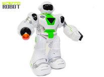 The Future Robot - speelgoed robot Super Warrior- LED licht en geluid - schiet pijltjes - 22CM