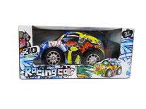 RC Racing Car - 3D LED Flash light - radio grafisch bestuurbaar auto 1:20 - 17CM