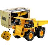 RC kiepwagen speelgoed werkvoertuig met laadbak - 2.4ghz radio grafisch bestuurbare truck 1:24
