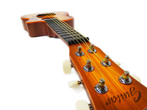 Speelgoed gitaar met opbergtas - 6 snaren - Music Guitar - 68 cm - Speelgoedinstrument