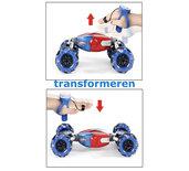 Rc Stunt Car 4WD 1:10 Transformer auto met hand en Afstandsbediening  bestuurbaar Twisten Off-Road Voertuig 2.4ghz
