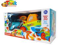 RC DIY Graafmachine truck speelgoed bouwset 24st + schroefboormachine 2in1 (33cm)