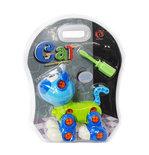 Speelgoed bouwset DIY schattig kat educatief speelset - met schroevendraaier