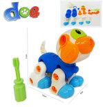 Speelgoed bouwset DIY schattig hondje educatief speelset - met schroevendraaier
