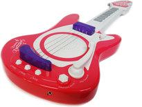 Speelgoed elektrische muziek gitaar met microfoon - Music guitar + mice