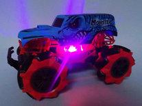 RC Monster Car off-road BRAVE- Rock Climbing Truck- Radio Grafisch Auto 2.4ghz - Oplaadbaar - 8 CHANNEL