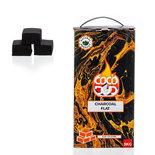 DUD Shisha   CoCo DUD Flat Shape-charcoal- 324pcs/box 3 kg - waterpijp kool