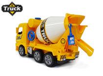 Mixer vrachtwagen speelgoed truck- met licht en geluid - deuren op en dicht functie - 29.5CM