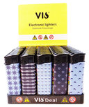 Klik aanstekers 50 in tray navulbaar- Unilite VIO deal 50 stuks aansteker