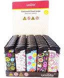 Klik aanstekers 50 in tray navulbaar met hippies kenmerken- Unilite VIO deal