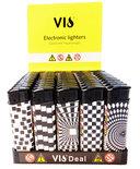 Klik aanstekers 50 in tray navulbaar- Unilite Vio deal aansteker