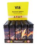 BS Klik aanstekers 50 in tray navulbaar- Unilite electronic lighters