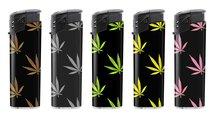 BS Klik aanstekers 50 in tray navulbaar- Unilite electronic lighters - marijuana