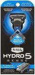 Wilkinson hydro 5 sense met 2 mesjes + houder -Shock absorb - Hydrate Wilkinson sword