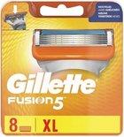 Gillette Fusion - 8 stuks - Scheermesjes - 5 mesjes