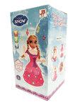 Snow Girl prinses pop - kan dansen en zingen - Elsa pop - met Licht en Geluid