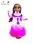 Snow Girl prinses pop - kan dansen en zingen - Anna pop - met Licht en Geluid
